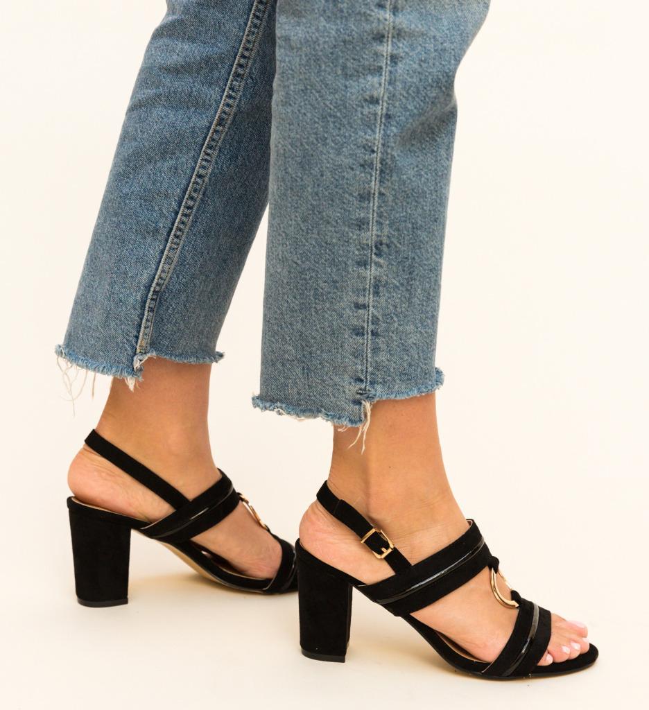 Sandale Zentos Negre