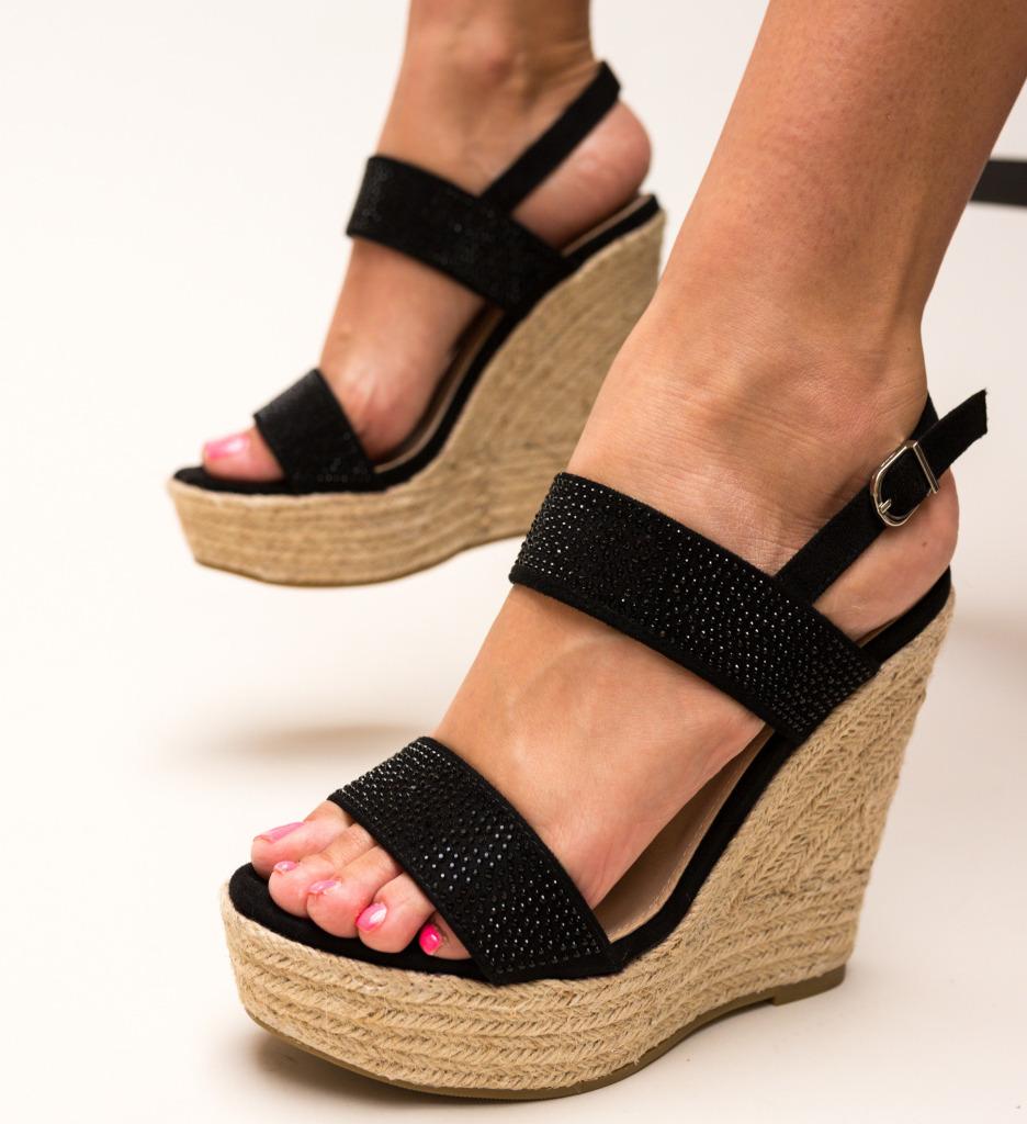 Sandale Zavala Negre