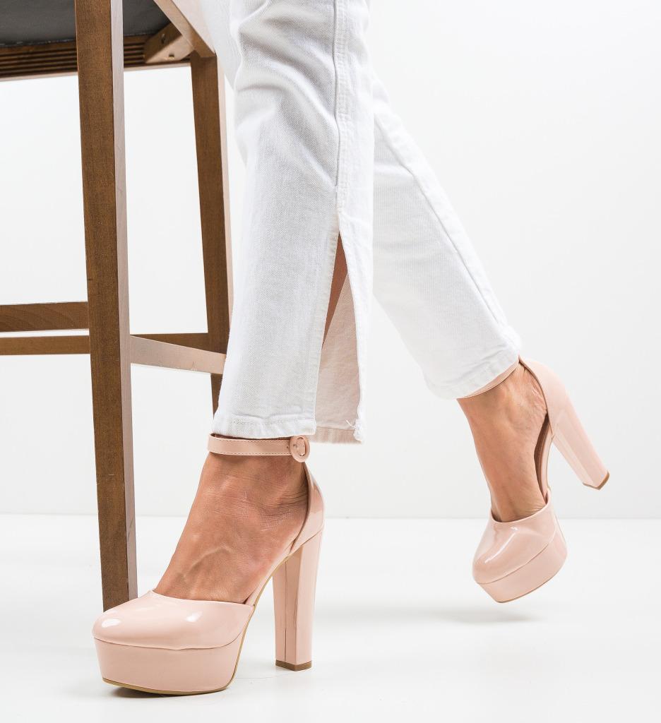 Pantofi Atkins Nude