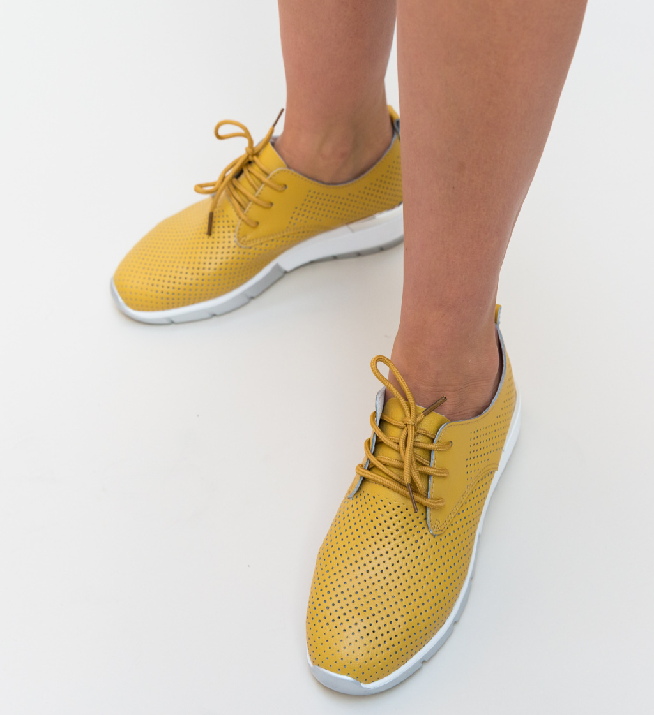 Pantofi Casual Albert Galbeni