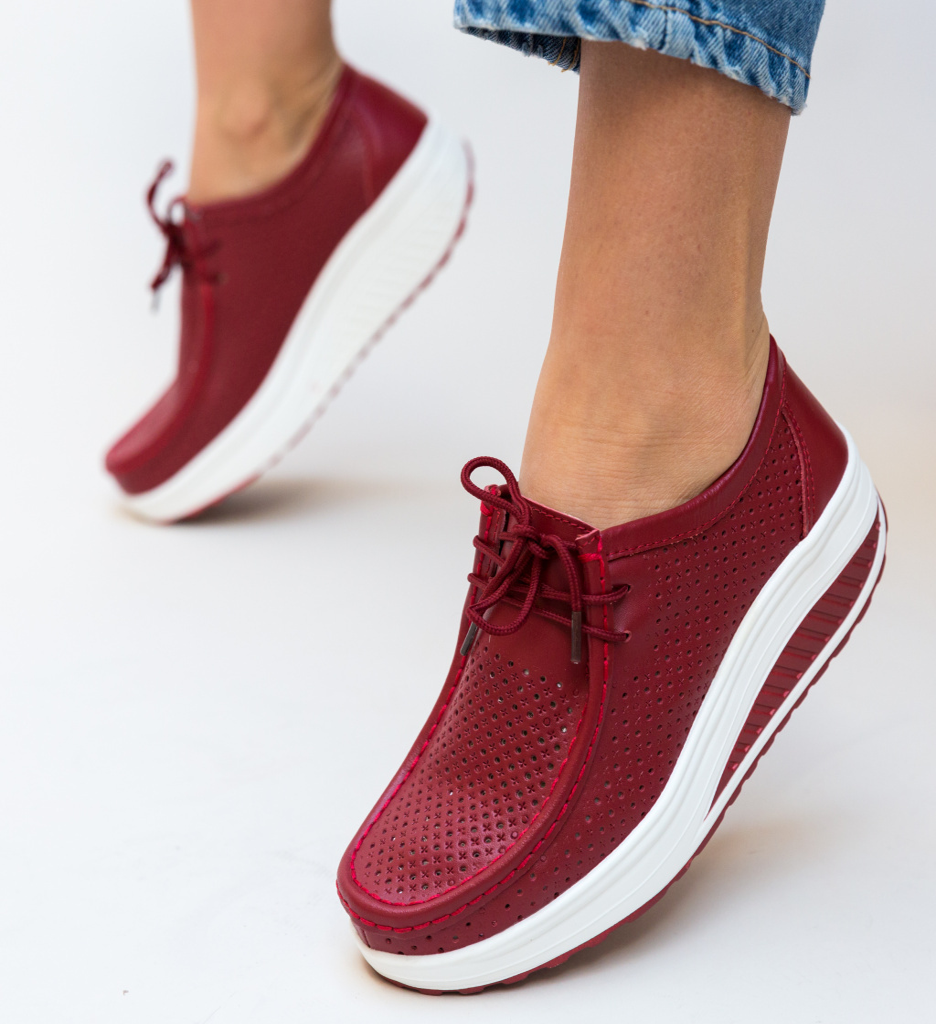 Pantofi Casual Baroco Rosii