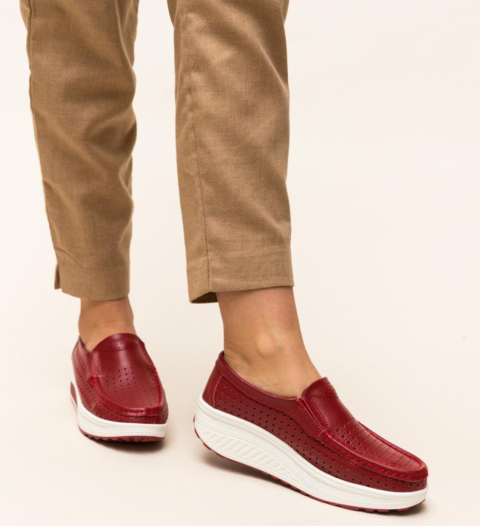 Pantofi Casual Bicaz Rosii