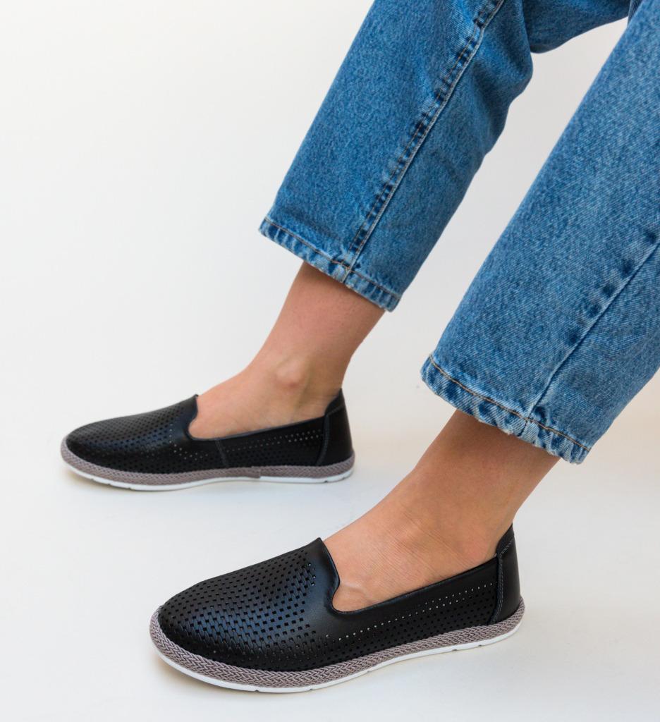 Pantofi Casual Cioline Negri
