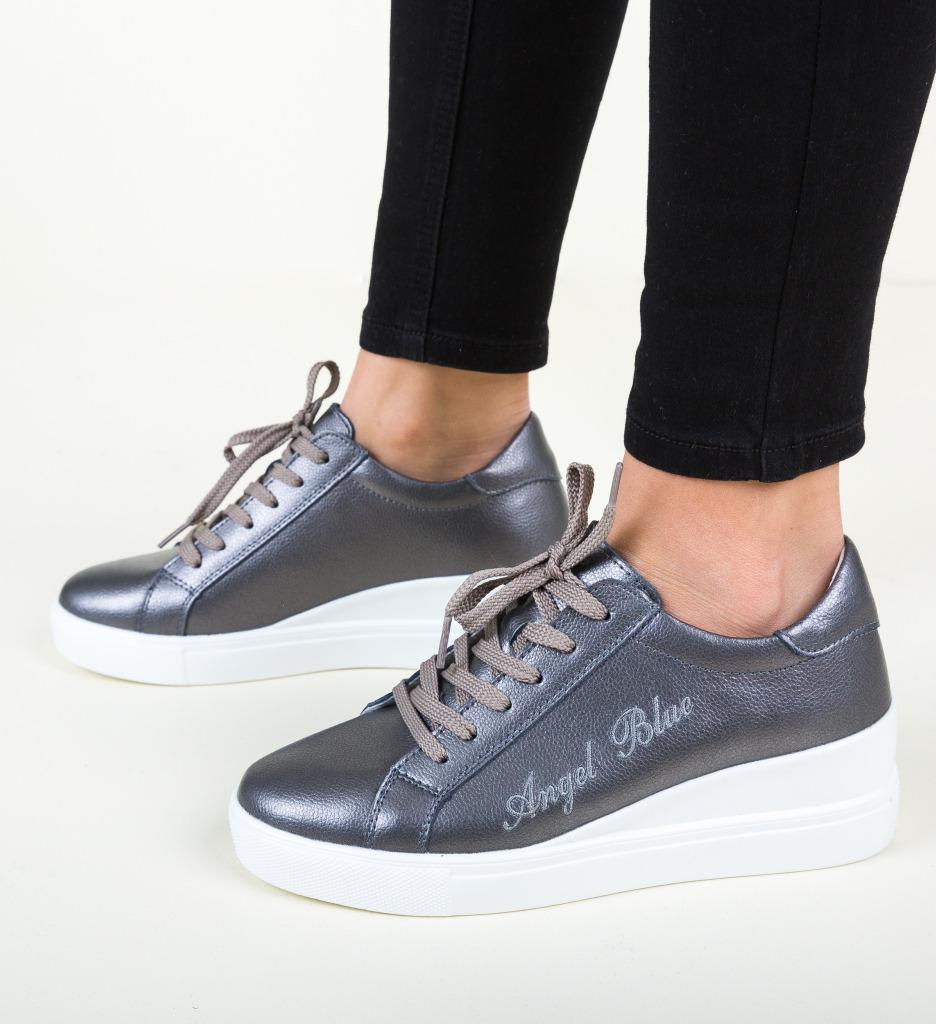 Pantofi Casual Daisie Gri