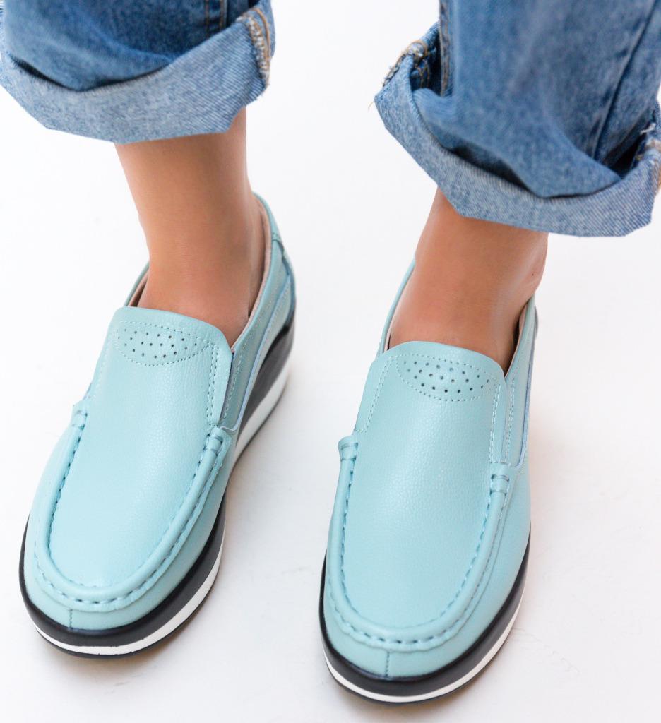 Pantofi Casual Ember Albastri imagine