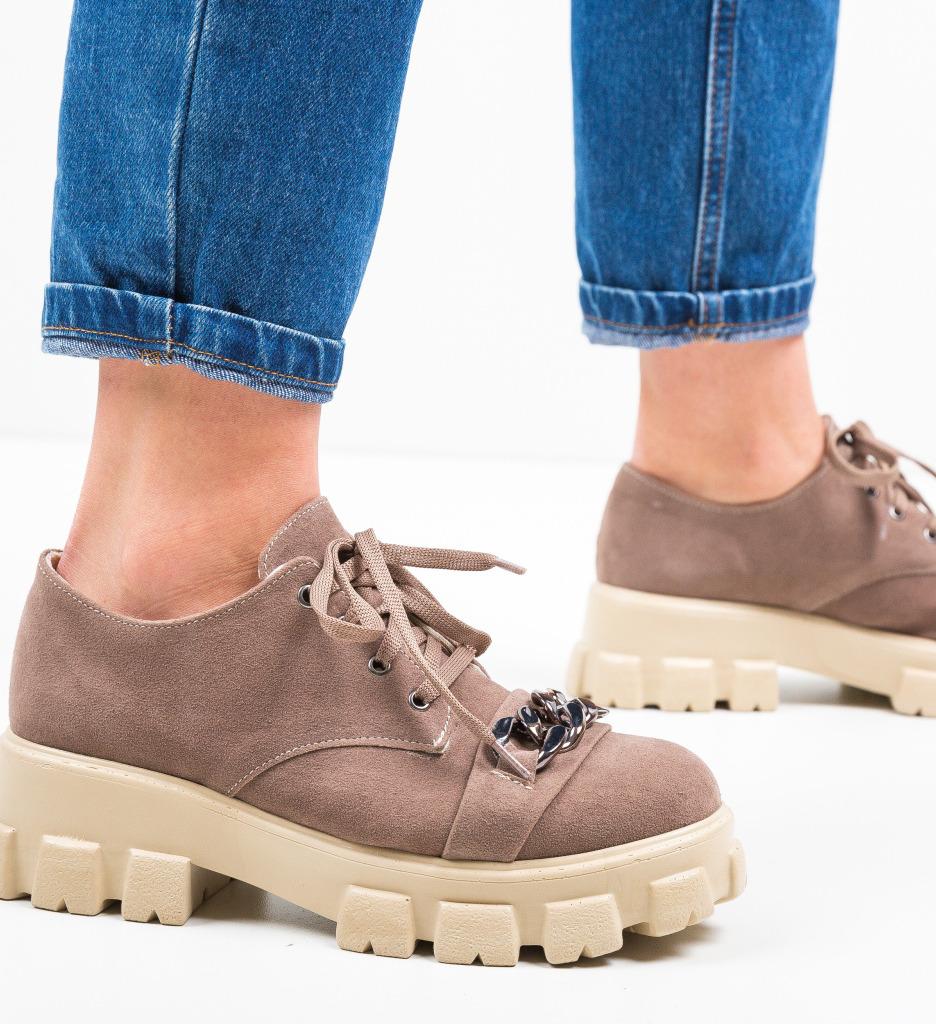 Pantofi Casual Gremna Bej