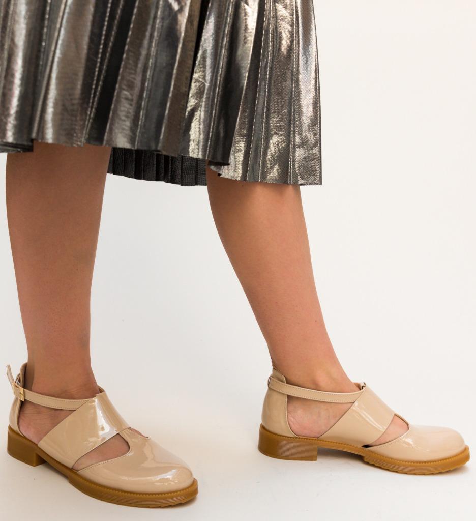 Pantofi Casual Jamie Nude