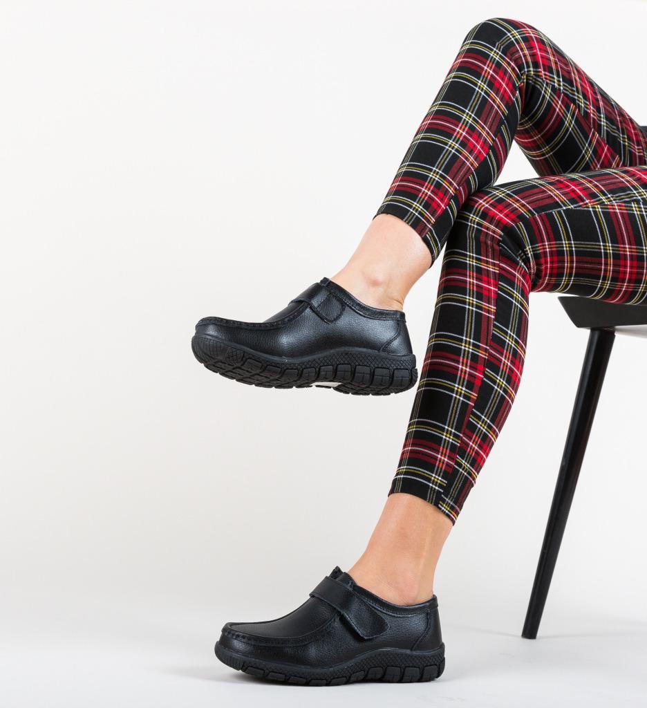 Pantofi Casual Kidd Negri imagine