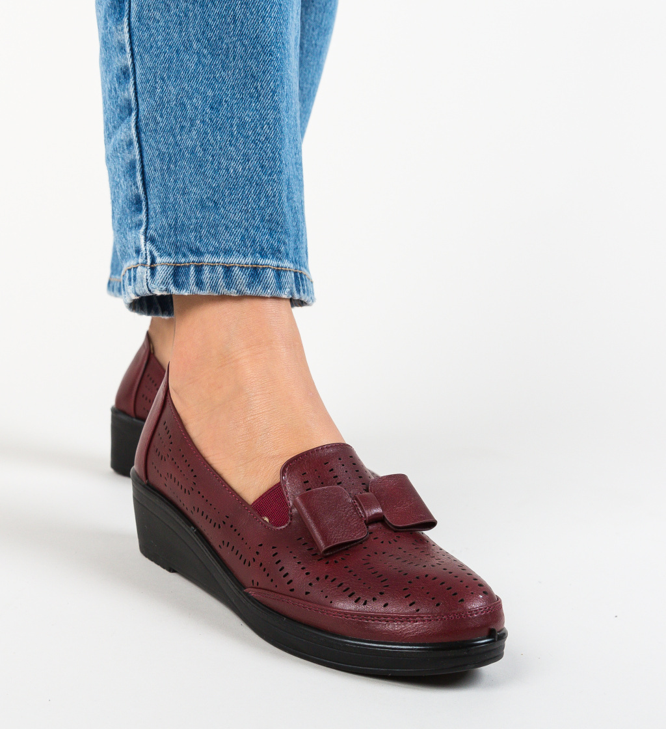 Pantofi Casual Kimono Grena
