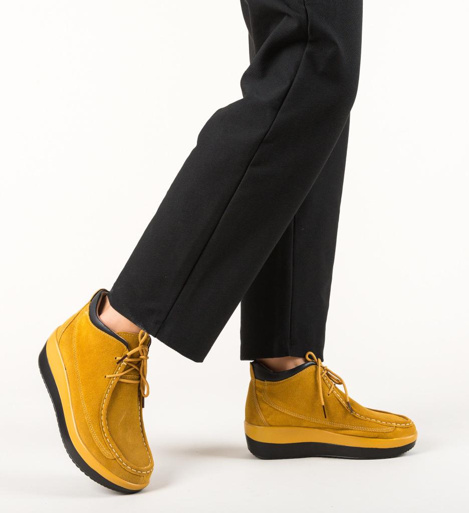 Pantofi Casual Lennon Bej