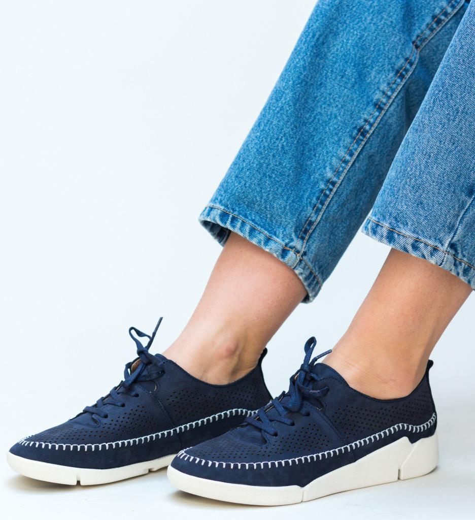 Pantofi Casual Monaco Bleumarin