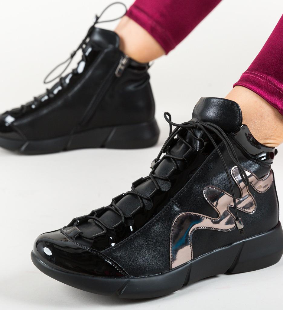 Pantofi Casual Oligona Negre