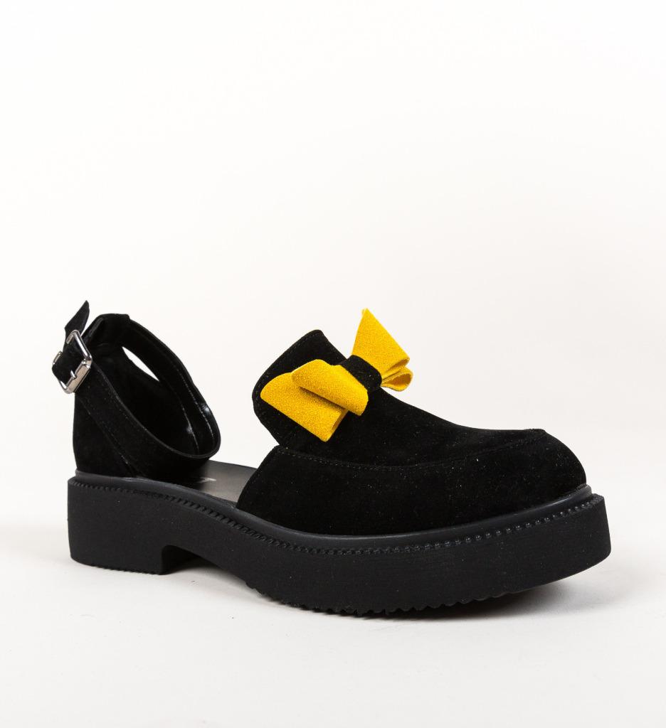 Pantofi Casual Pretty Negri
