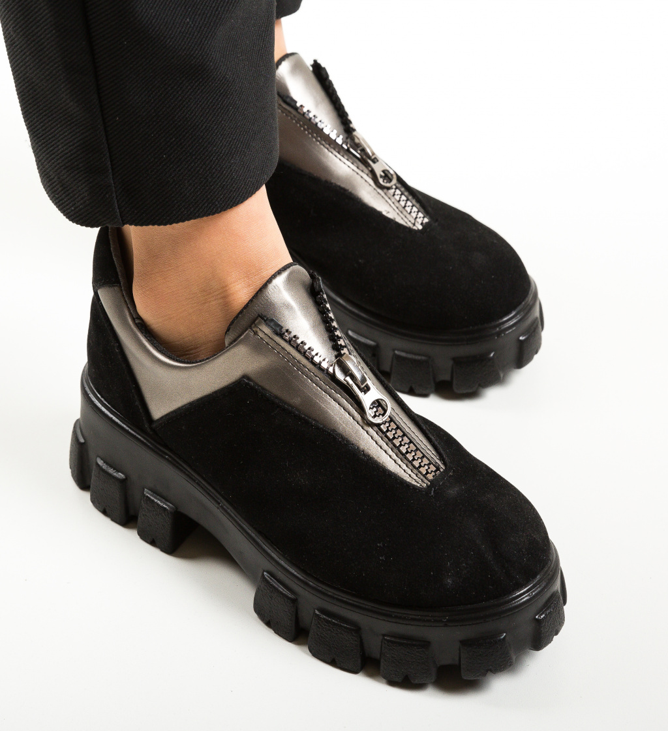 Pantofi Casual Rosiori Gri
