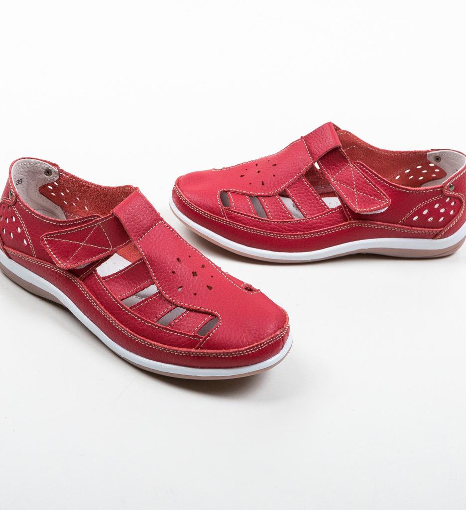 Pantofi Casual Saptes Rosii