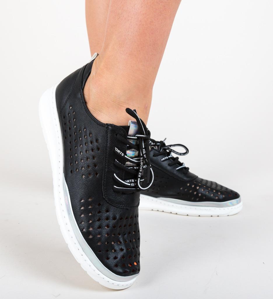 Pantofi Casual Stora Negri imagine 2021