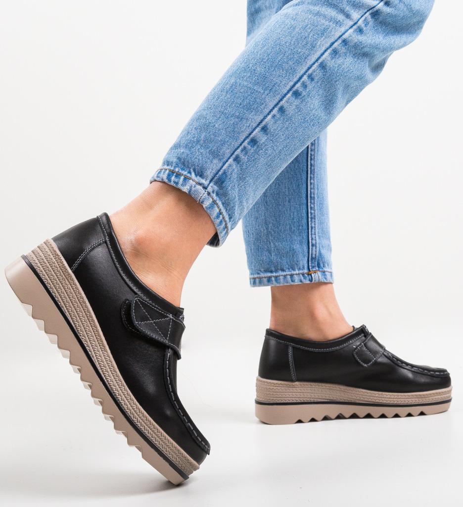 Pantofi Casual Straif Negri