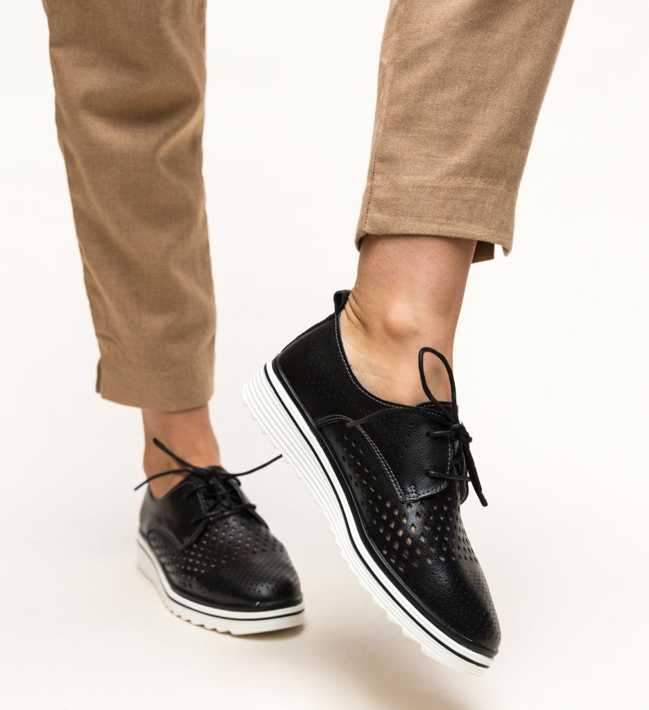 Pantofi Casual Tone Negri