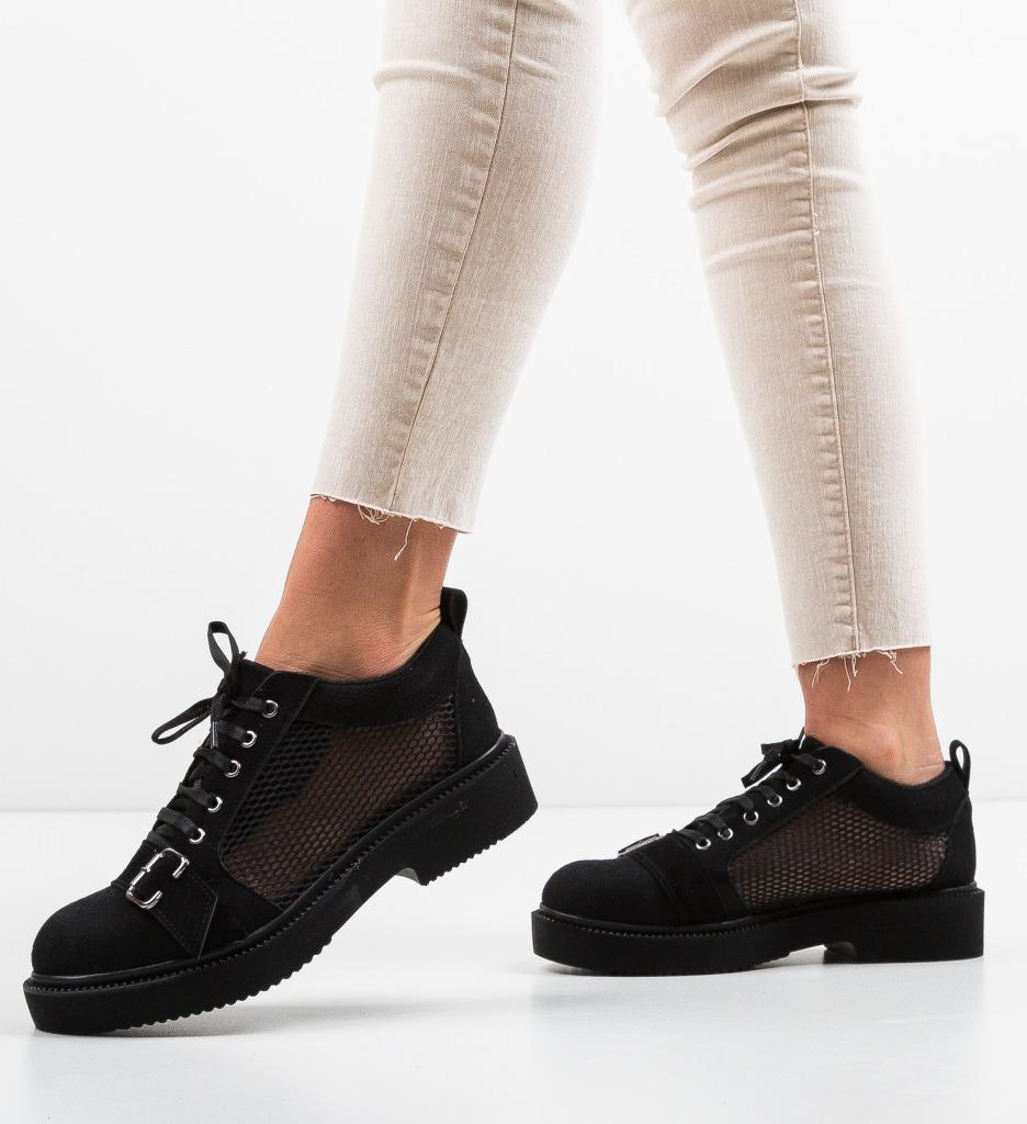 Pantofi Casual Tourqoise Negri