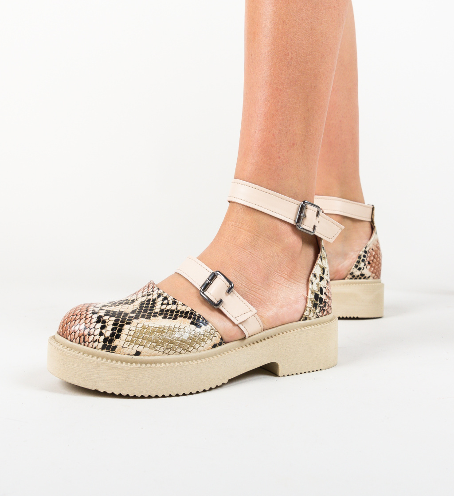 Pantofi Casual Turbak Bej