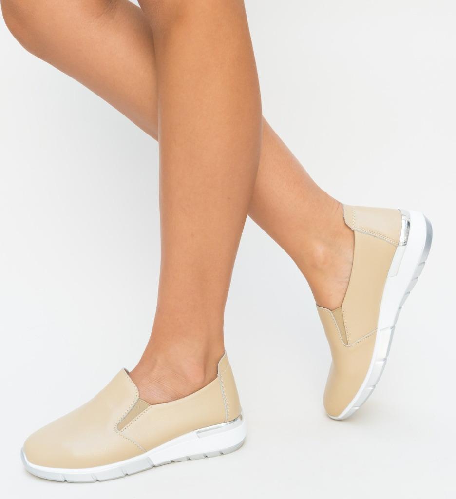 Pantofi Casual Vestri Bej