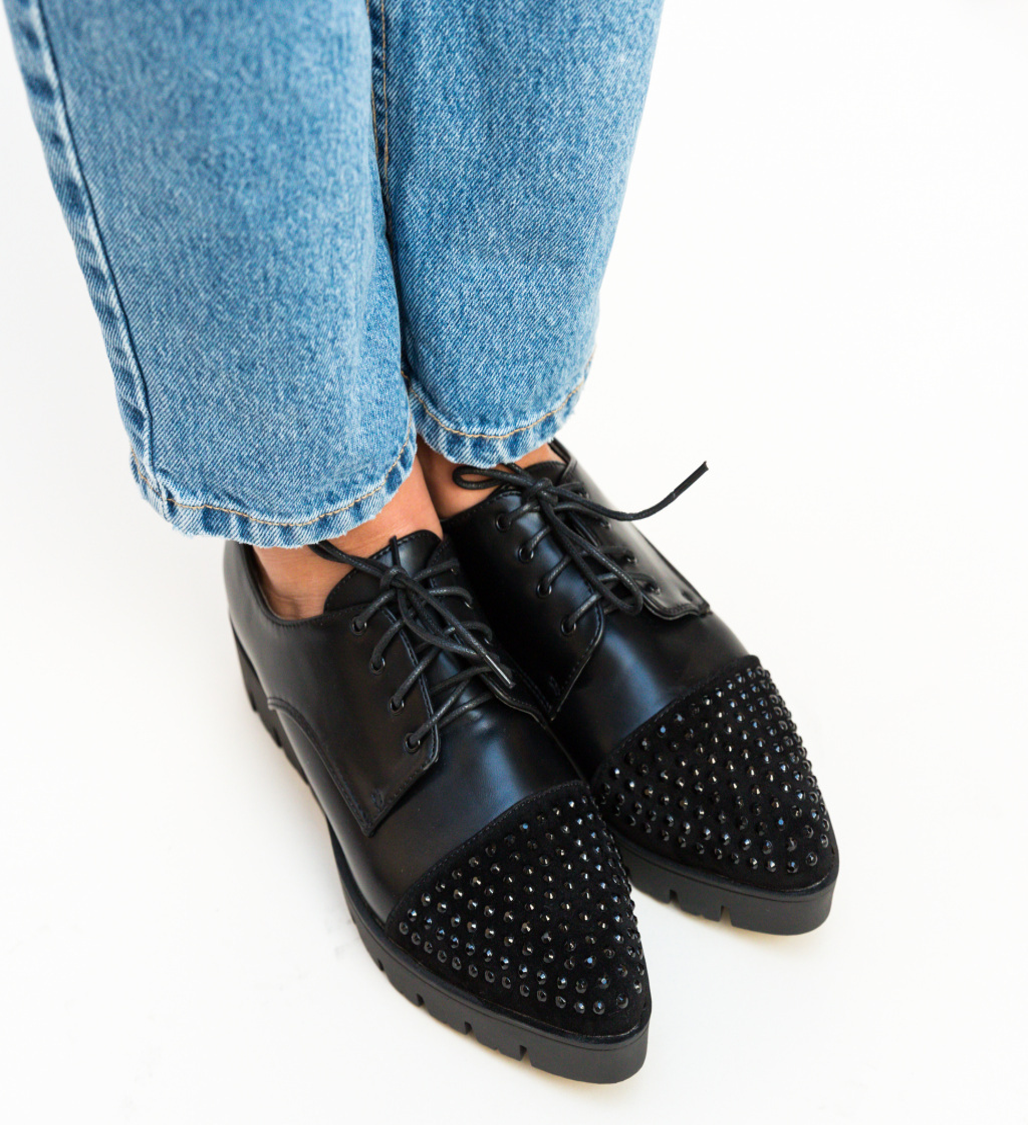 Pantofi Casual Xena Negri