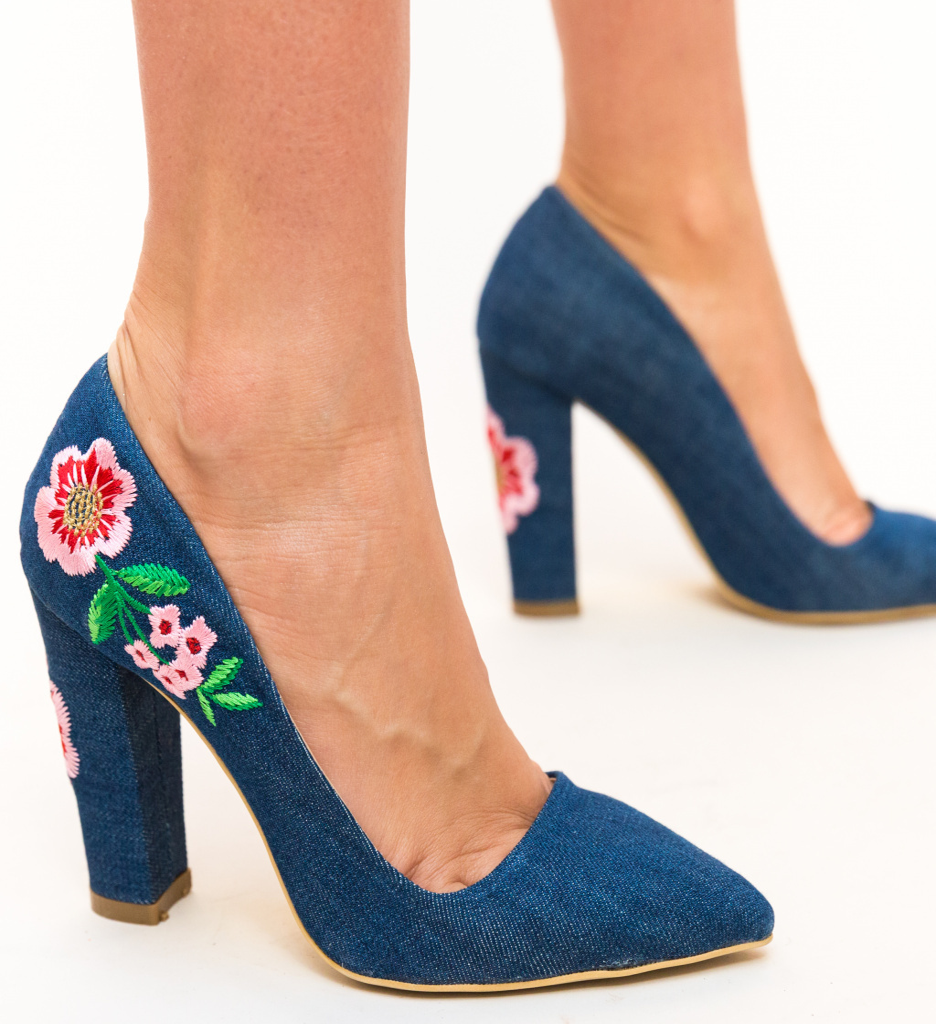 Pantofi Ceacs Albastri 2
