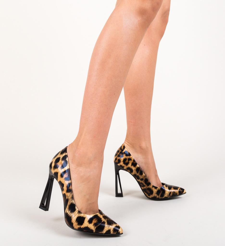 Pantofi Dipper Negri
