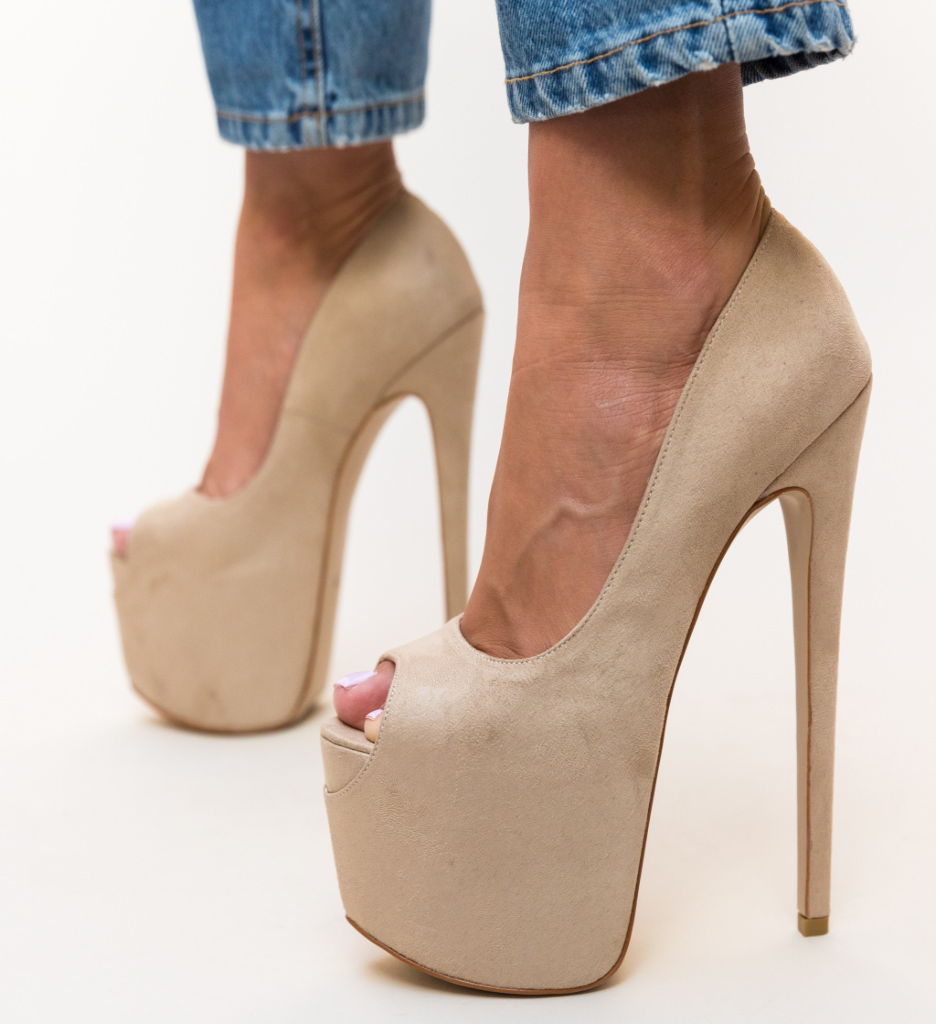 Pantofi Dolla Bej