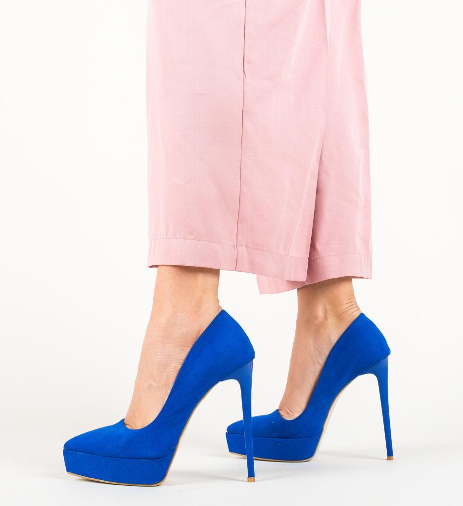 Pantofi Eldafe Albastri