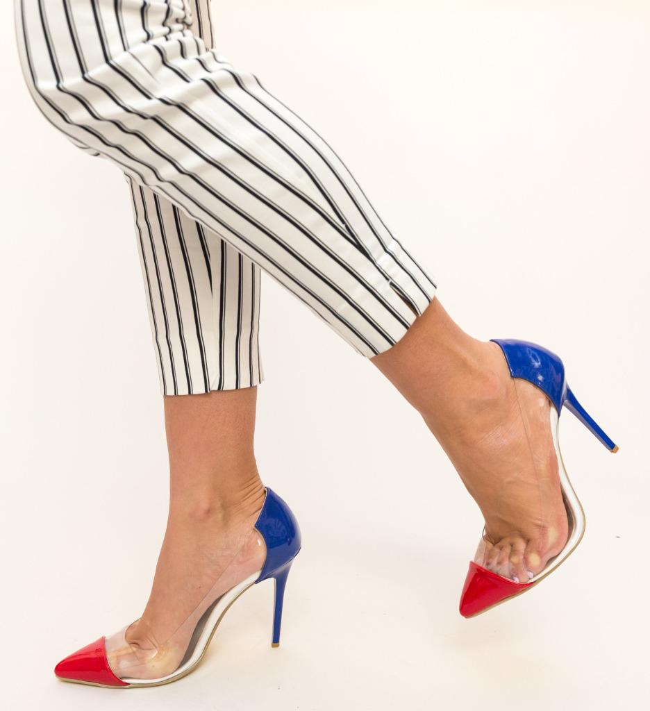 Pantofi Fahym Rosii