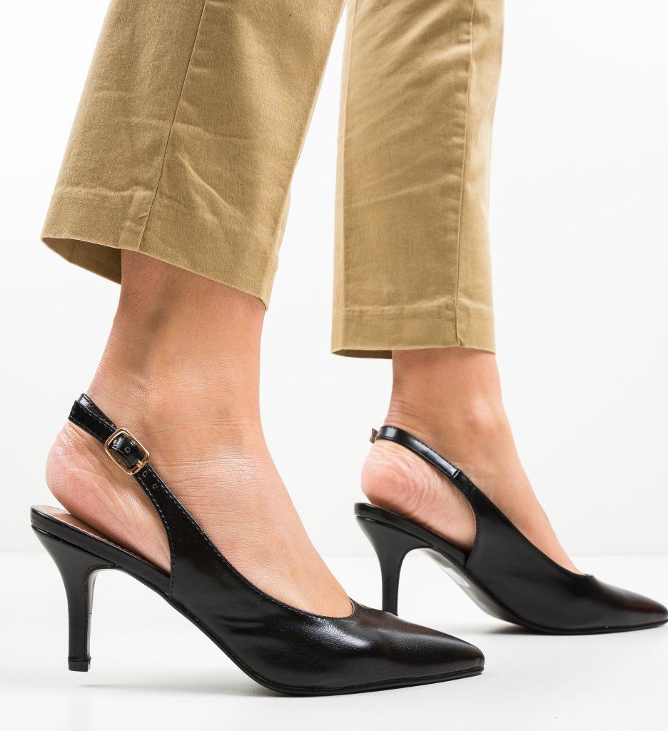 Pantofi Farpi Negri