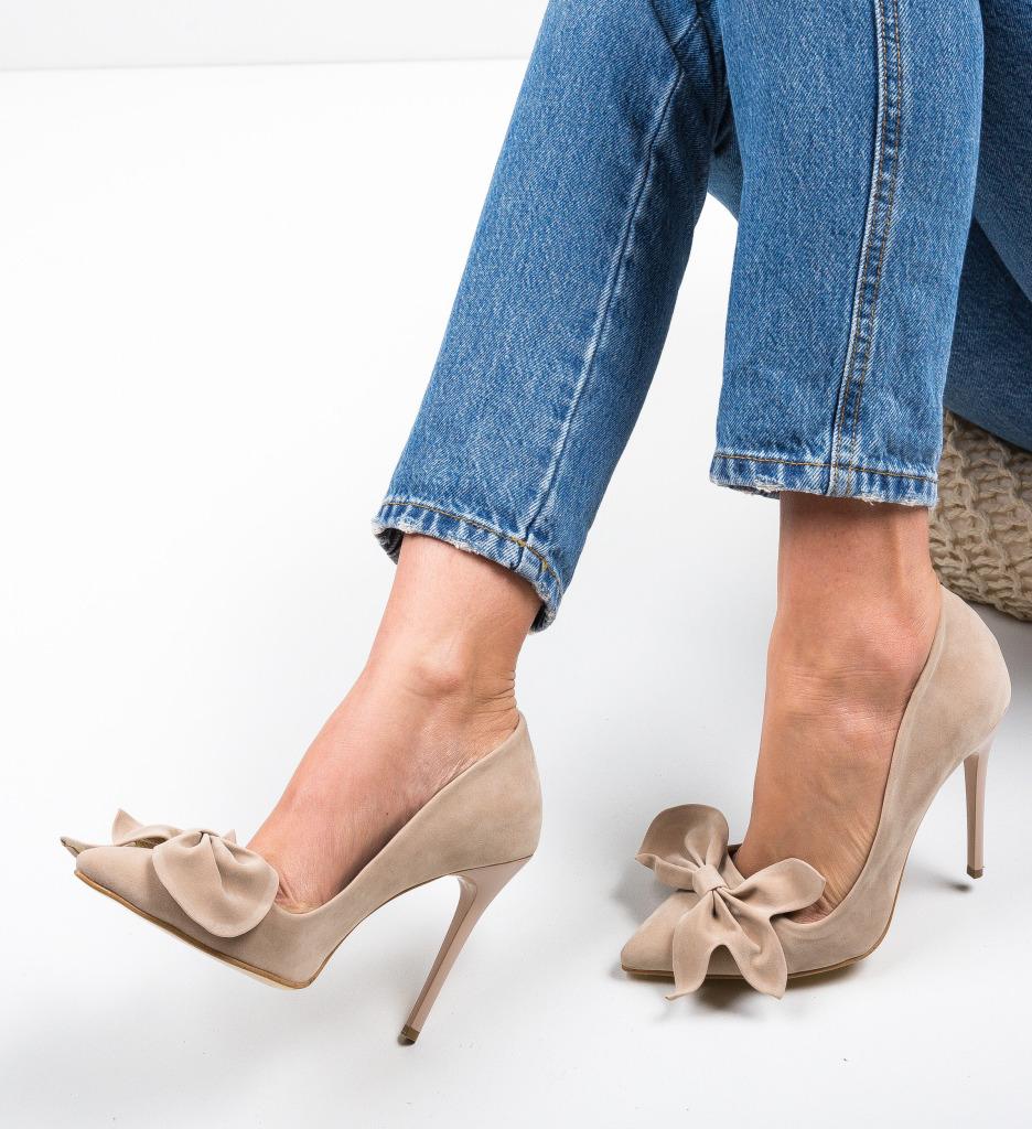 Pantofi Juanita Bej 2