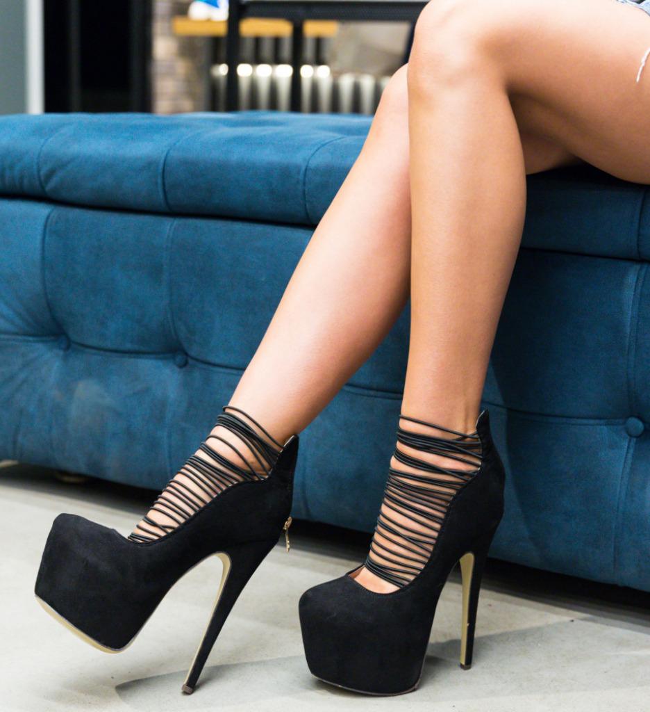 Pantofi Karim Negri