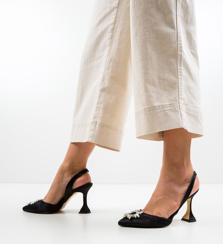 Pantofi Manona Negre