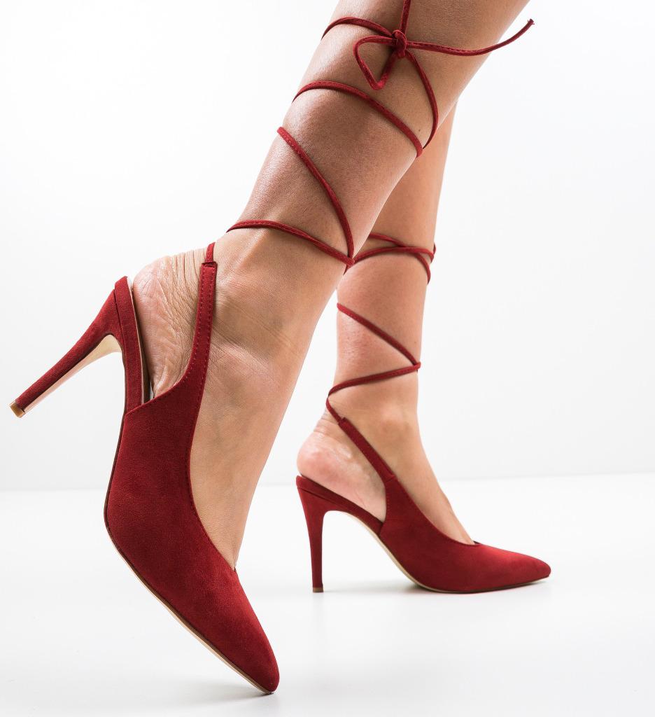 Pantofi Melton Grena