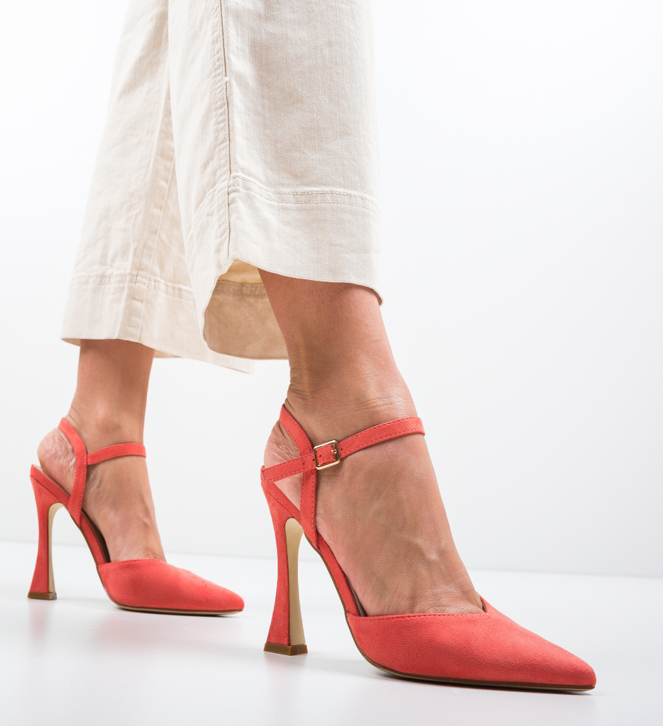 Pantofi Neroc Corai