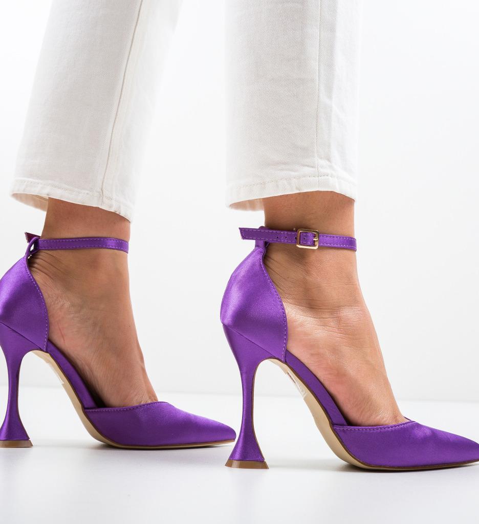 Pantofi Paior Mov
