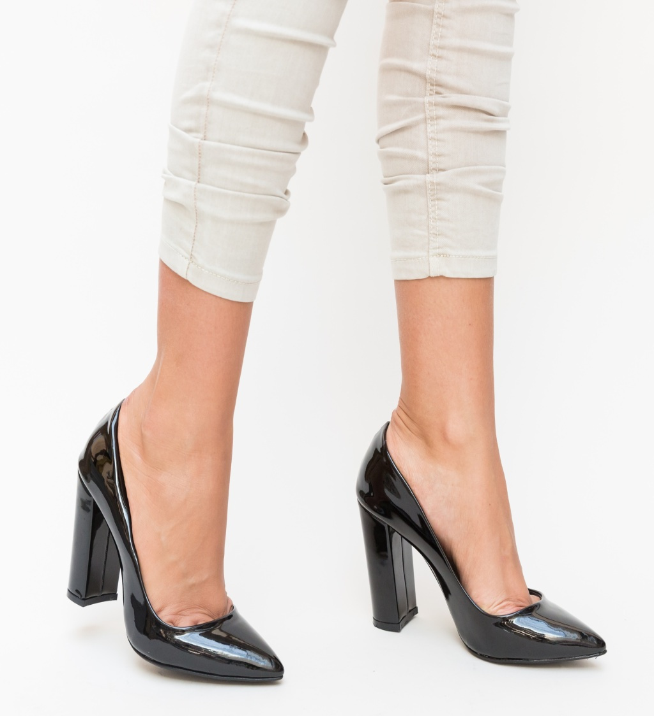 Pantofi Sacen Negri 2