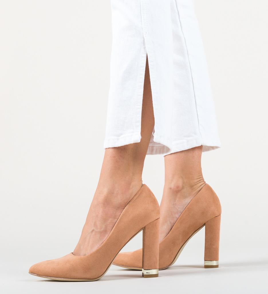 Pantofi Sofie Bej
