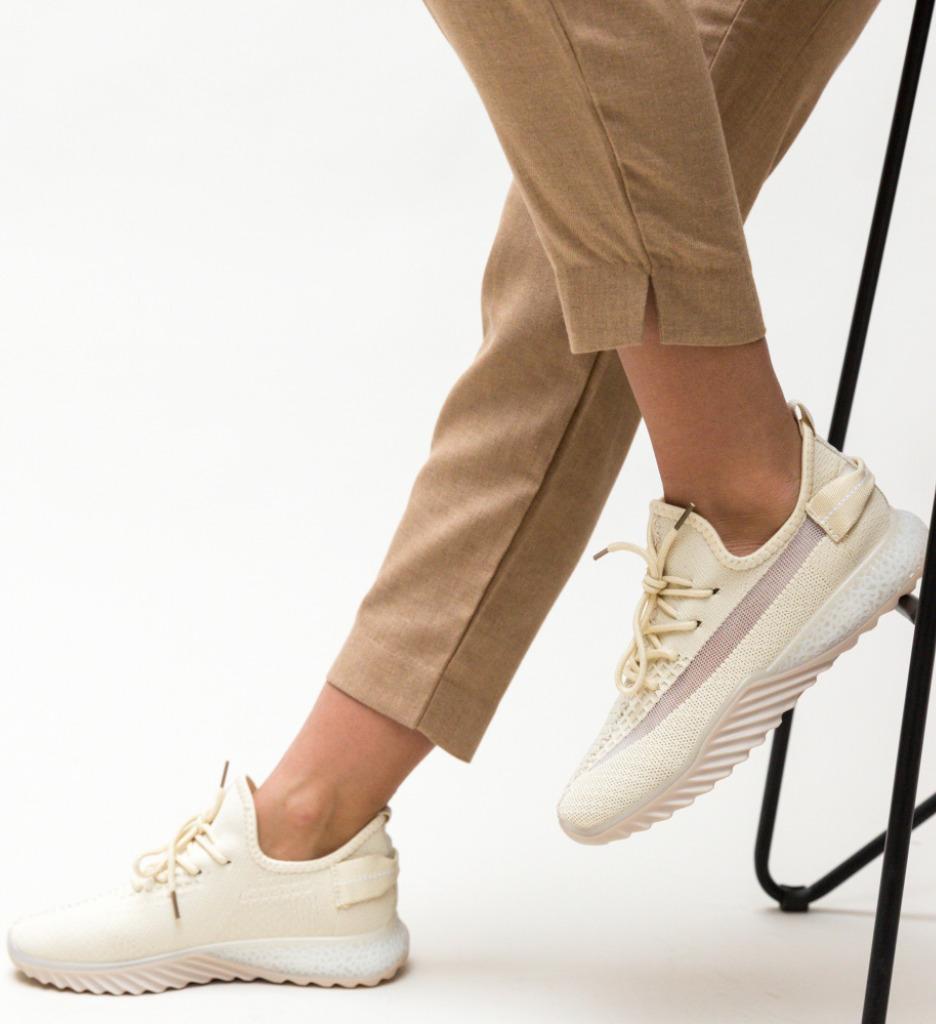 Pantofi Sport Adaline Bej