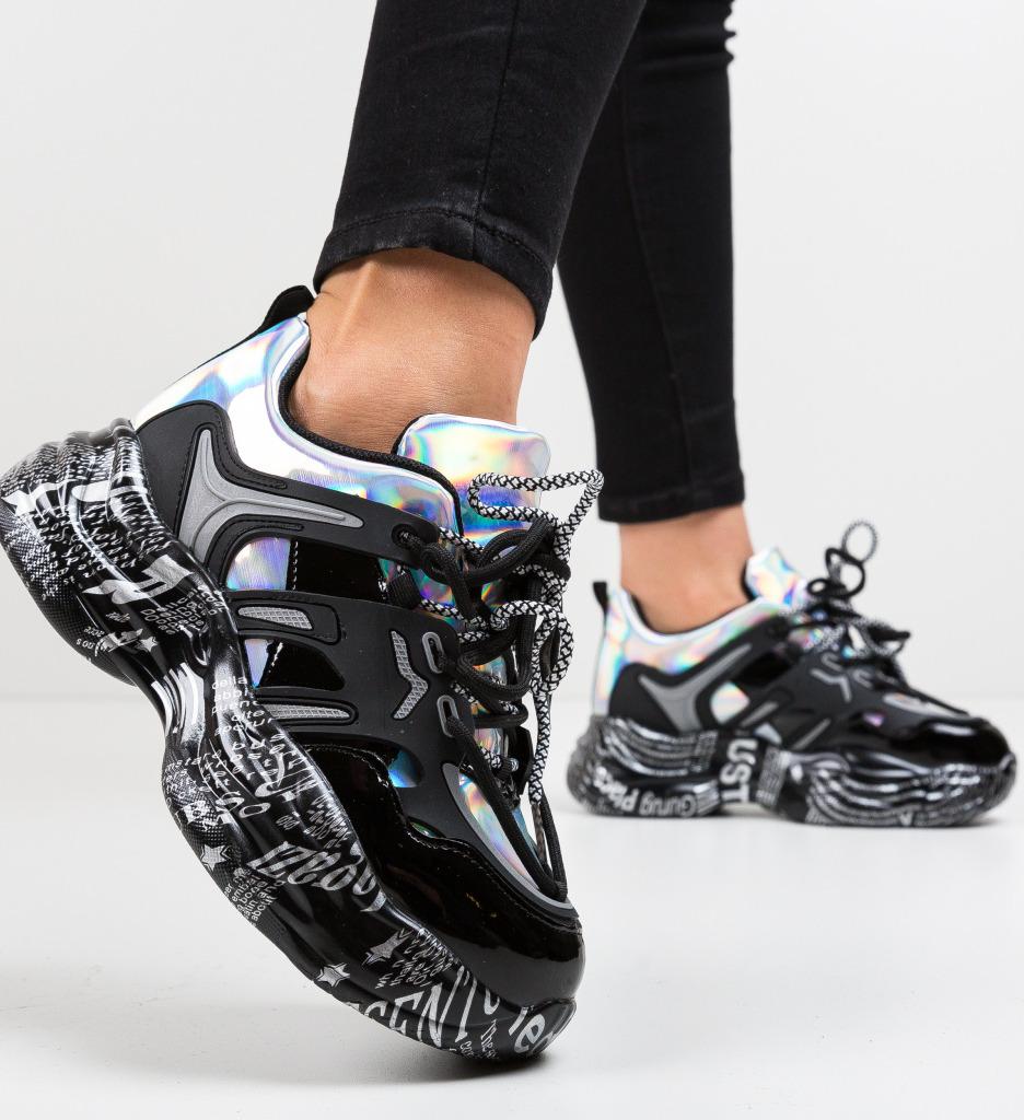 Pantofi Sport Adoare Negri 2