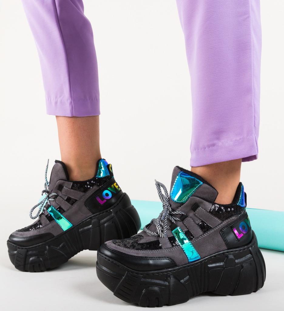 Pantofi Sport Bojak Gri