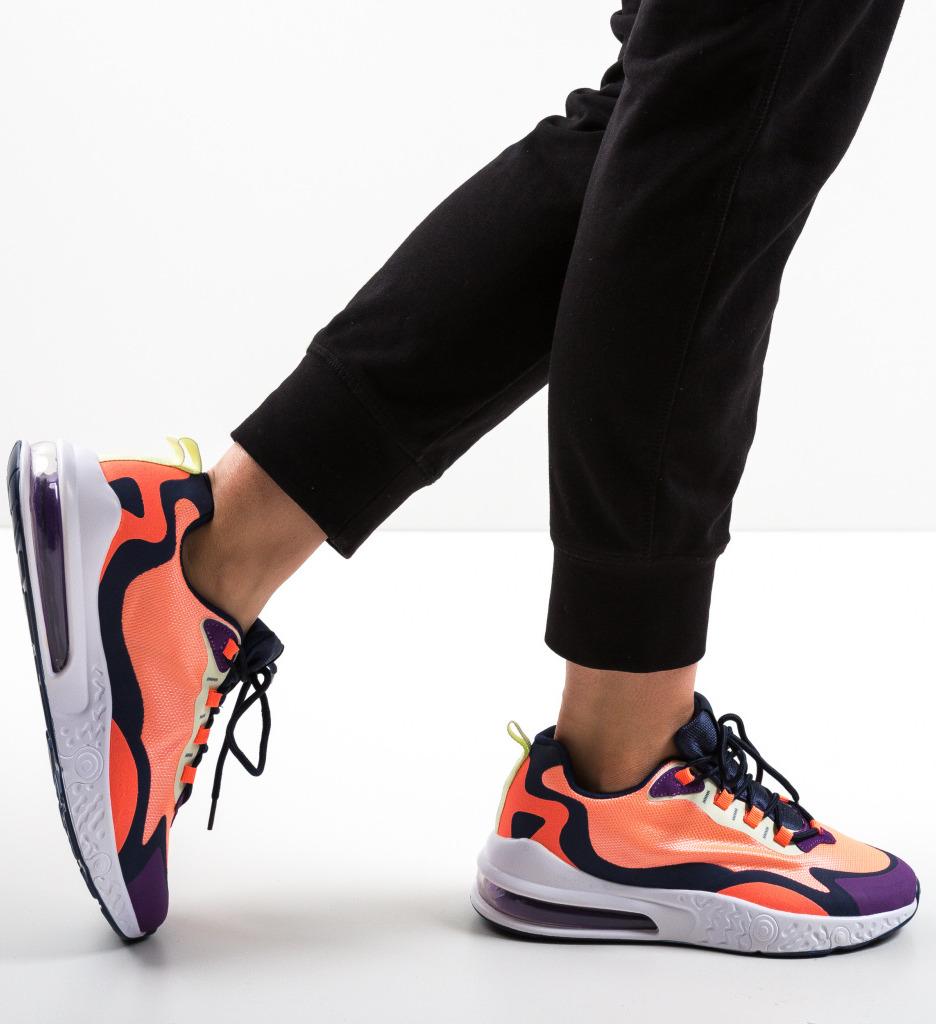 Pantofi Sport Hard Portocalii