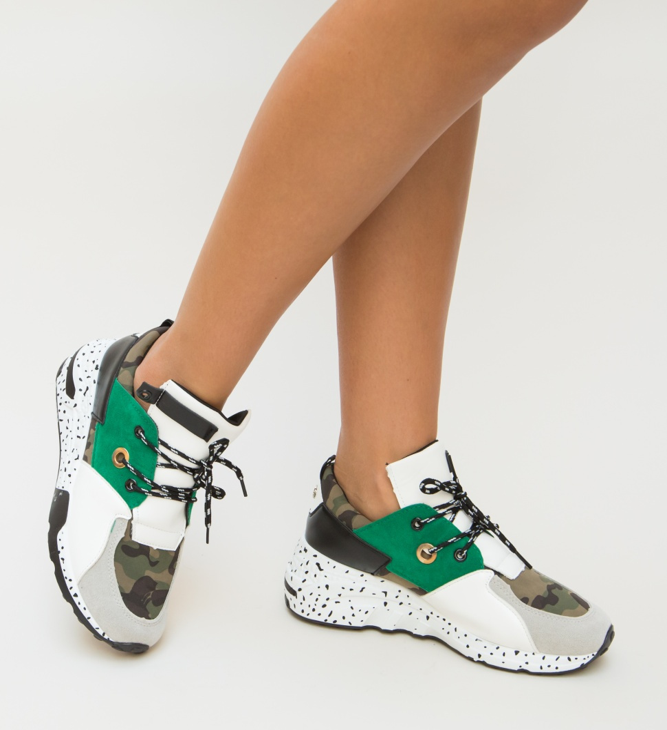 Pantofi Sport Huny Verzi