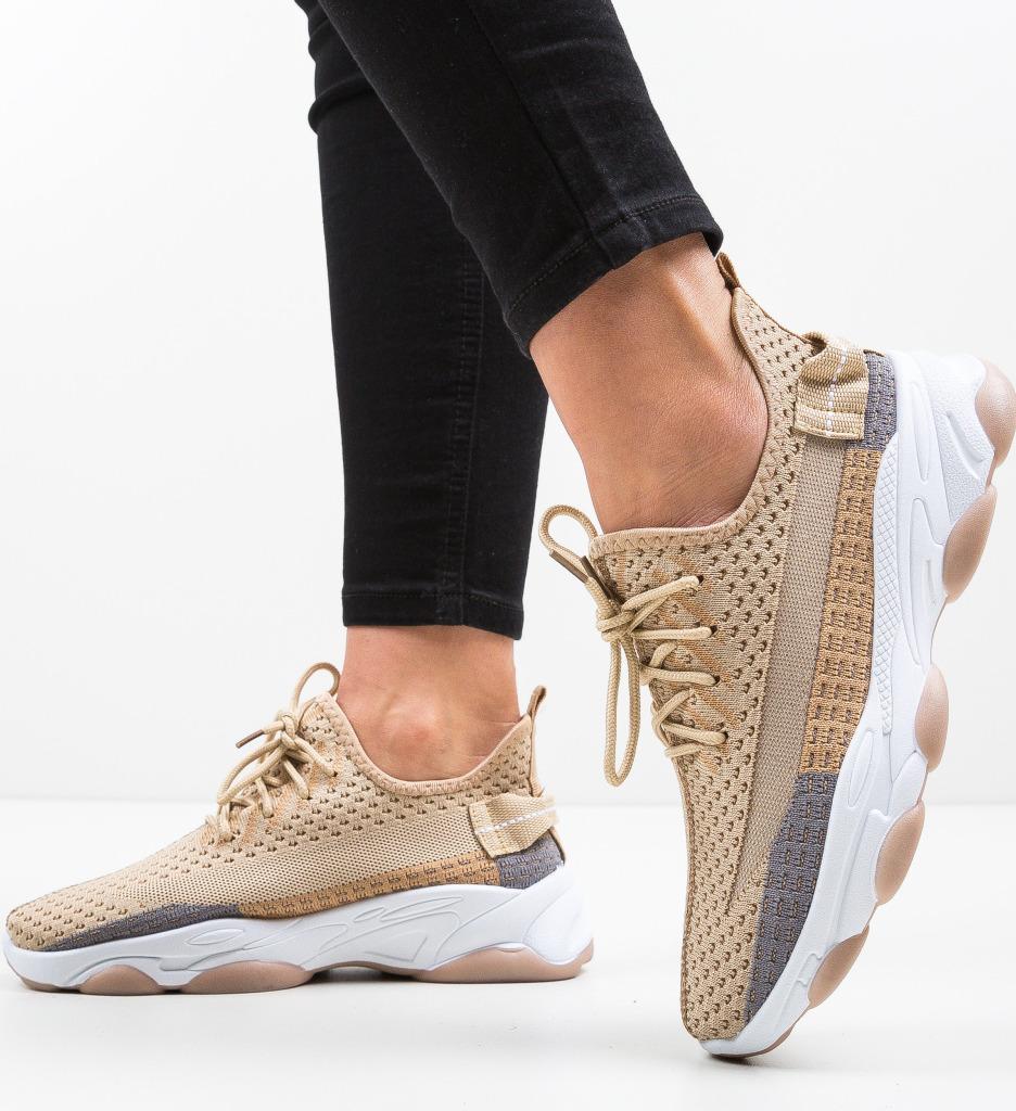 Pantofi Sport Miwo Bej