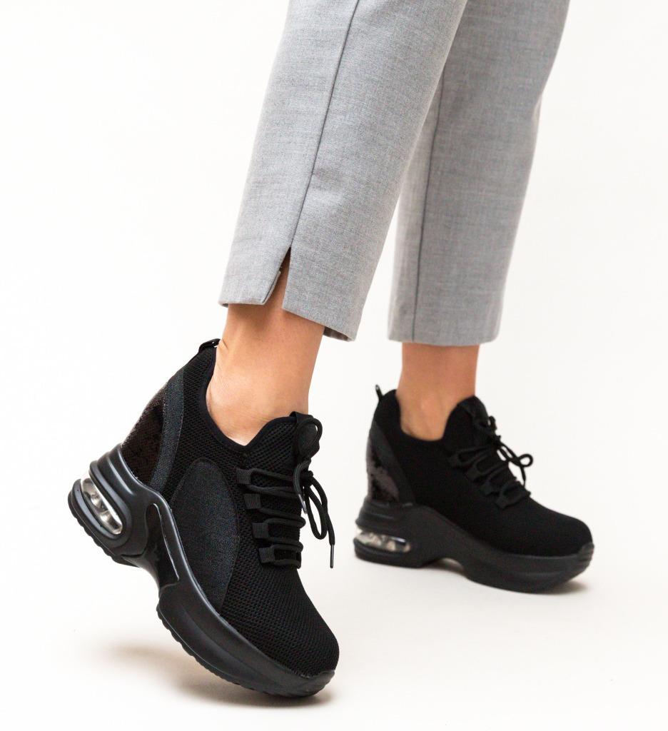Pantofi Sport Mylio Negri