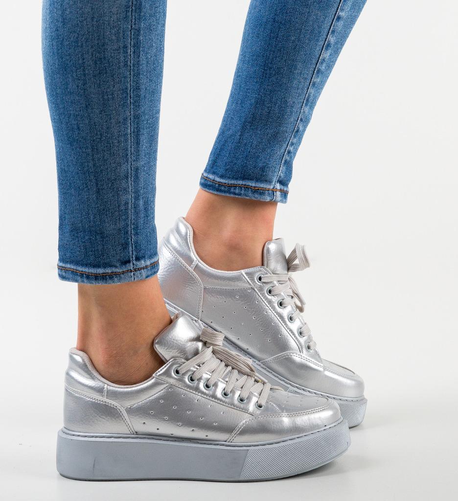 Pantofi Sport Nustu Gri 2