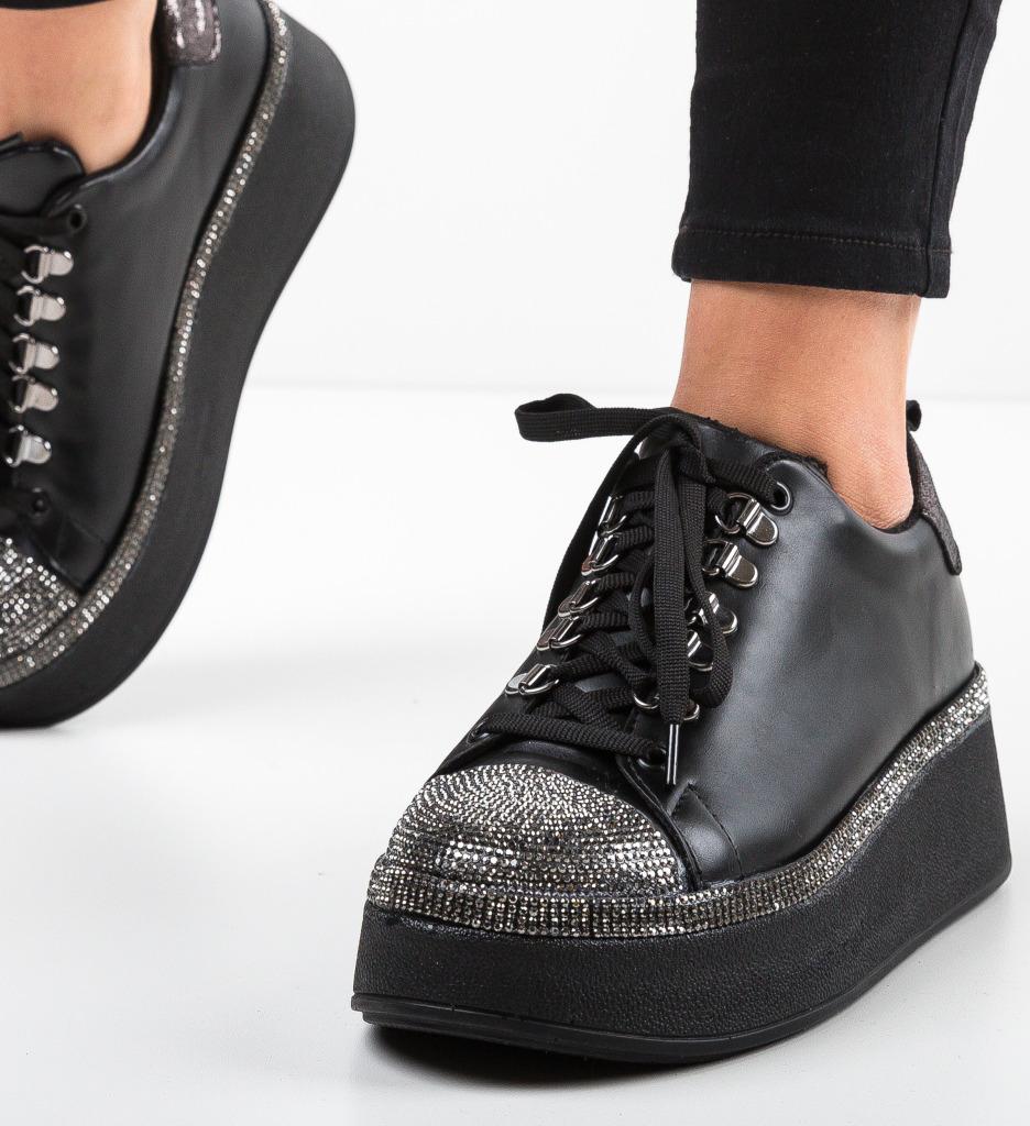 Pantofi Sport Pompu Negri 2