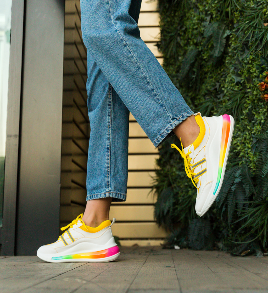 Pantofi Sport Rujee Galbeni